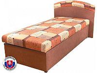 Jednolůžková postel (válenda) 90 cm Napoli (s molitanovou matrací)