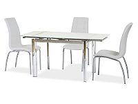 Jídelní stůl GD-019 (bíla) (pro 4 až 6 osob)