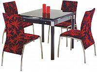 Jídelní stůl Kent černá (pro 4 osoby)
