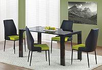 Jídelní stůl Kevin černá (pro 6 osob)