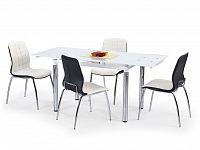Jídelní stůl L31 bílá (pro 4 až 6 osob)