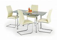 Jídelní stůl LOGAN 2 šedá (pro 4 až 6 osob)