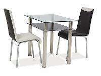Jídelní stůl Madras 90x60 (chróm) (pro 4 osoby)