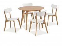 Jídelní stůl Mosso II (dub) (pro 4 osoby)