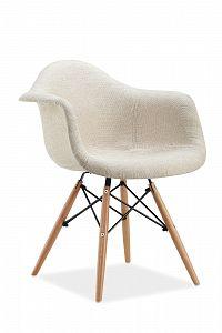 Jídelní židle Bono (krémová)