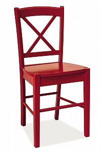 Jídelní židle CD-56 (červená)