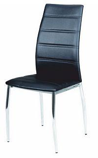 Jídelní židle Dela černá