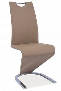 Jídelní židle H-090 (ekokůže tmavě béžová)