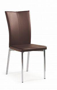 Jídelní židle K113 tmavohnědá