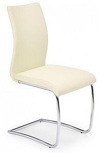 Jídelní židle K180 tmavě krémová