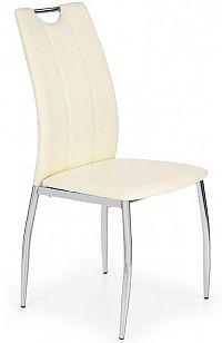 Jídelní židle K187 bílá