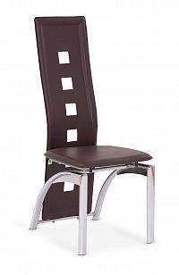 Jídelní židle K4 tmavohnědá