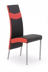 Jídelní židle K51 černá + červená