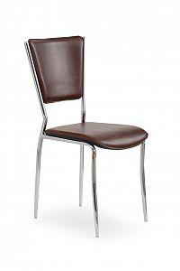 Jídelní židle K72C tmavohnědá