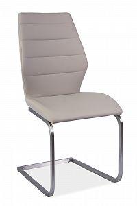 Jídelní židle Kevin (ekokůže cappuccino)
