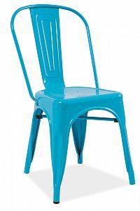 Jídelní židle Loft (modrá)