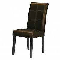 Jídelní židle Rory New tmavohnědá