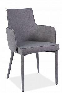 Jídelní židle Semir (šedá)