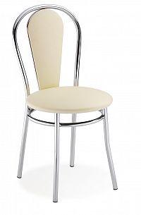 Jídelní židle Tulipan Plus krémová