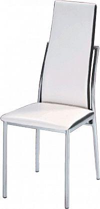 Jídelní židle Zora bílá