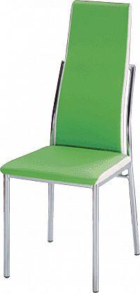 Jídelní židle Zora zelená