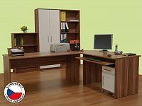 Kancelář Johan (švestka + bílá)