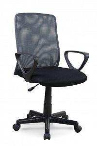Kancelářská židle Alex černá + šedá