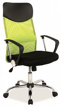 Kancelářska židle Q-025 zelená + černá