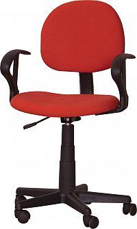 Kancelářská židle TC3-227 červená