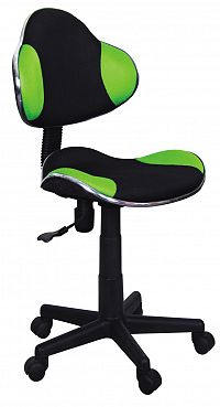 Kancelářské křeslo Q-G2 (zelená + černá)