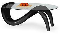 Konferenční stolek Cortina černá