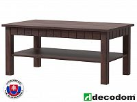 Konferenční stolek Decodom Lirot Typ 45 (dub řezaný schoko)