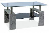 Konferenční stolek Lisa II (šedý kámen)