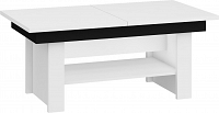 Konferenční stolek Mexico Bílá + černá