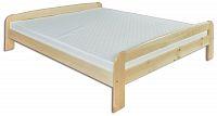 Manželská postel 140 cm LK 108 (masiv)