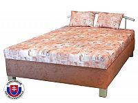 Manželská postel 140 cm Maša (se sendvičovou matrací)