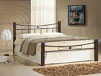 Manželská postel 140 cm Paula (s roštem)