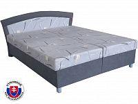 Manželská postel 160 cm Brigita (s molitanovou matrací)
