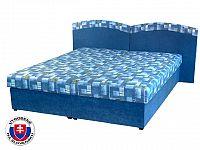 Manželská postel 160 cm Duo (s molitanovou matrací)