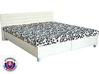 Manželská postel 160 cm Etile (se 7-zónovou matrací lux)