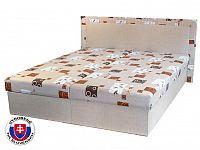 Manželská postel 160 cm Hedviga (s molitanovou matrací)