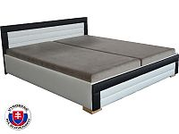 Manželská postel 160 cm Jarka (s pružinovou matrací)