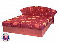 Manželská postel 160 cm Lukáš (s molitanovou matrací)