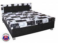 Manželská postel 160 cm Maja (se sendvičovou matrací)