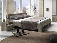 Manželská postel 160 cm Mediolan