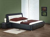 Manželská postel 160 cm SAMANTA P (s roštem a úložným prostorem)