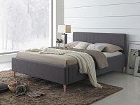 Manželská postel 160 cm Seul (s roštem)