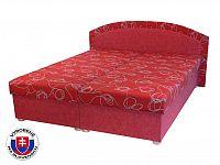 Manželská postel 160 cm Soňa (s pružinovou matrací)