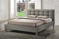 Manželská postel 160 cm Texas (s roštem)