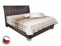 Manželská postel 180 cm Blanár Sara (hnědá) (s rošty a matrací Ivana Plus)